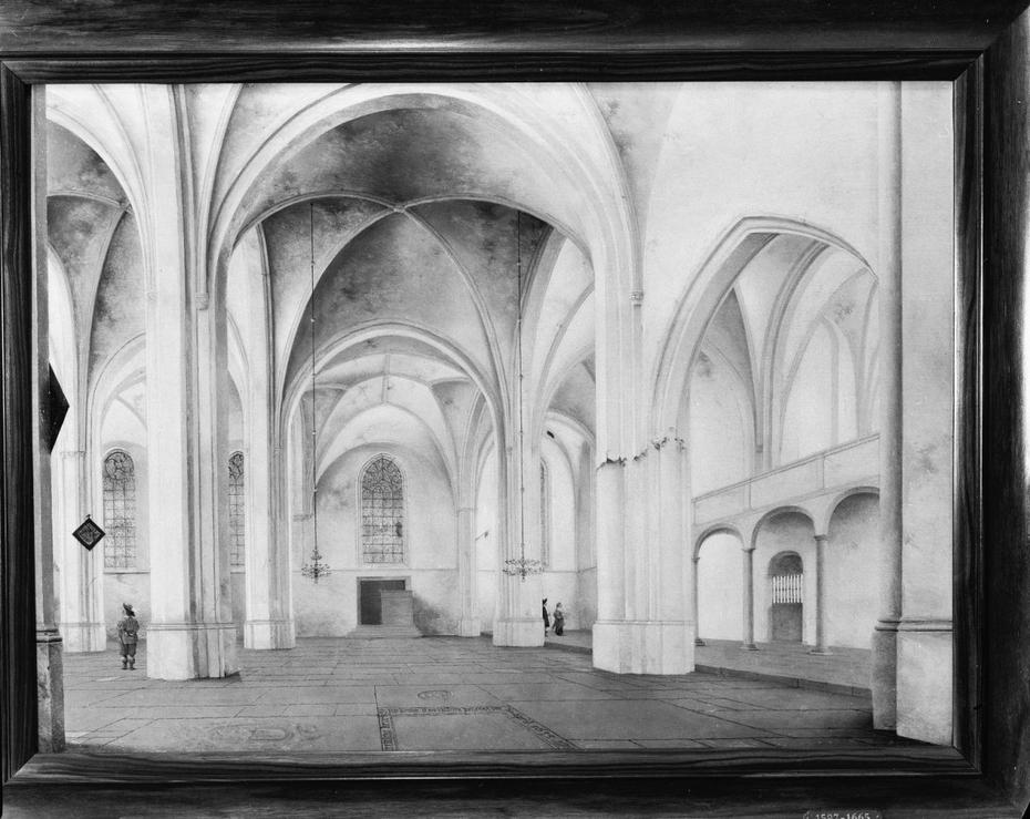 Interior of the Cunerakerk in Rhenen