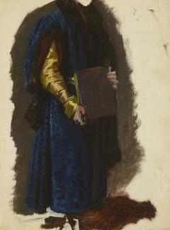 "Jaśko of Tęczyn's Garment. Study to the Painting ""The Oath of Queen Jadwiga"""