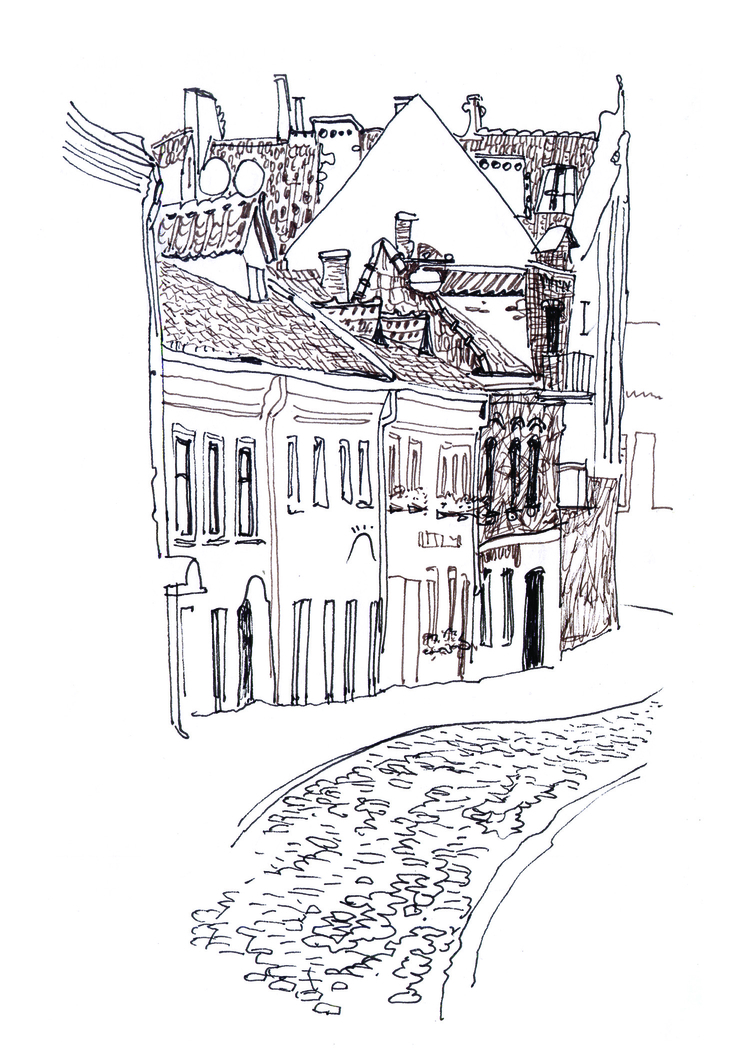 Kaunas sketch