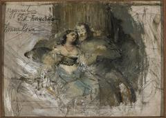 Kazimierz and Esterka (?)