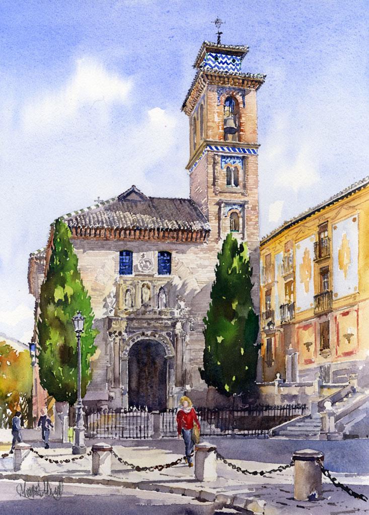 La Iglesia de Santa Ana, Granada