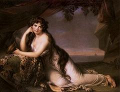 Lady Hamilton as Ariadne