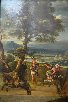 Landscape with Absalom Wounded by Joab's Spear