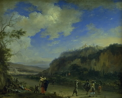 Landscape with Gentlemen Playing Pall-Mall