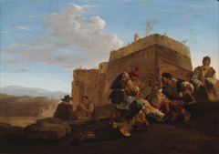 Landscape with Morra Players (The Small Limekiln)