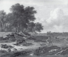 Landscape with Rider, 1670