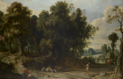 Landscape with the Devil Sowing Tares