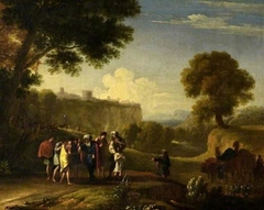 Landscape with the sale of Joseph