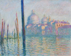 Le Grand Canal by Claude Monet