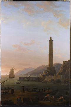 Le phare de Gênes