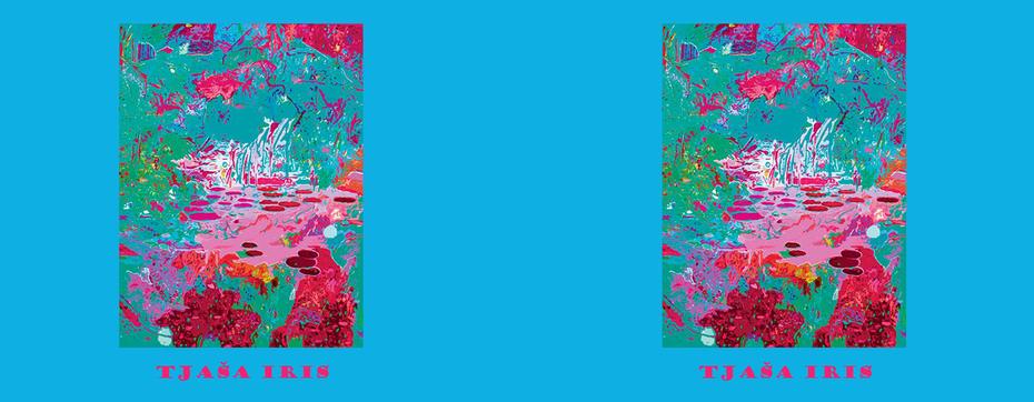 """LIGHT IN THE GARDEN, """"Light Blue"""", LE print of 35, 2014 mug"""
