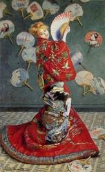 La Japonaise (Camille Monet in Japanese Costume)