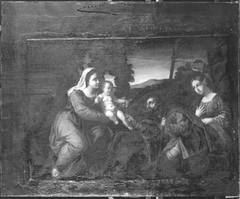 Madonna and Child with Saints Roche and Mary Magdalene