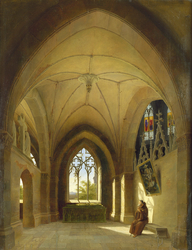 Monk in a Cloister