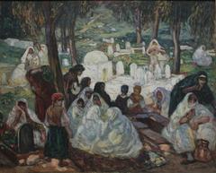 Musulmanes au cimetière d'El Kettar