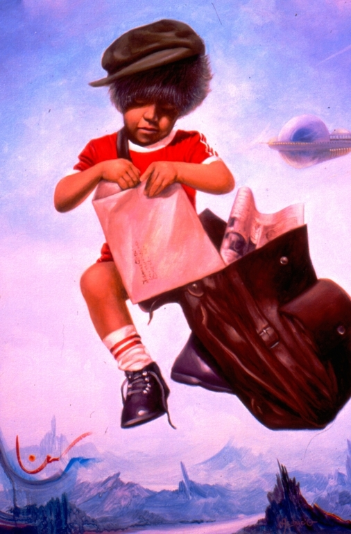 O Carteiro curioso / The curious postman