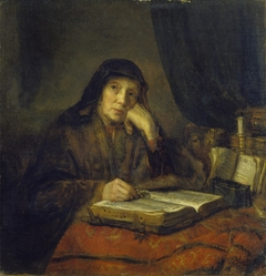 Old prophetess, ca. 1655-1660