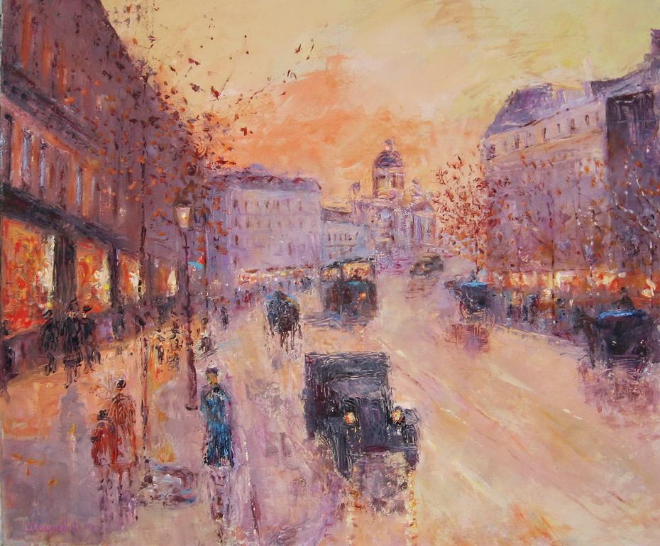 """Along the Boulevard"", 1930 y"