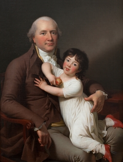 Peter Tutein with his Youngest Son Louis Alexander