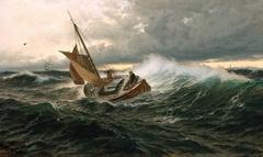 Pilot Boat in heavy Sea