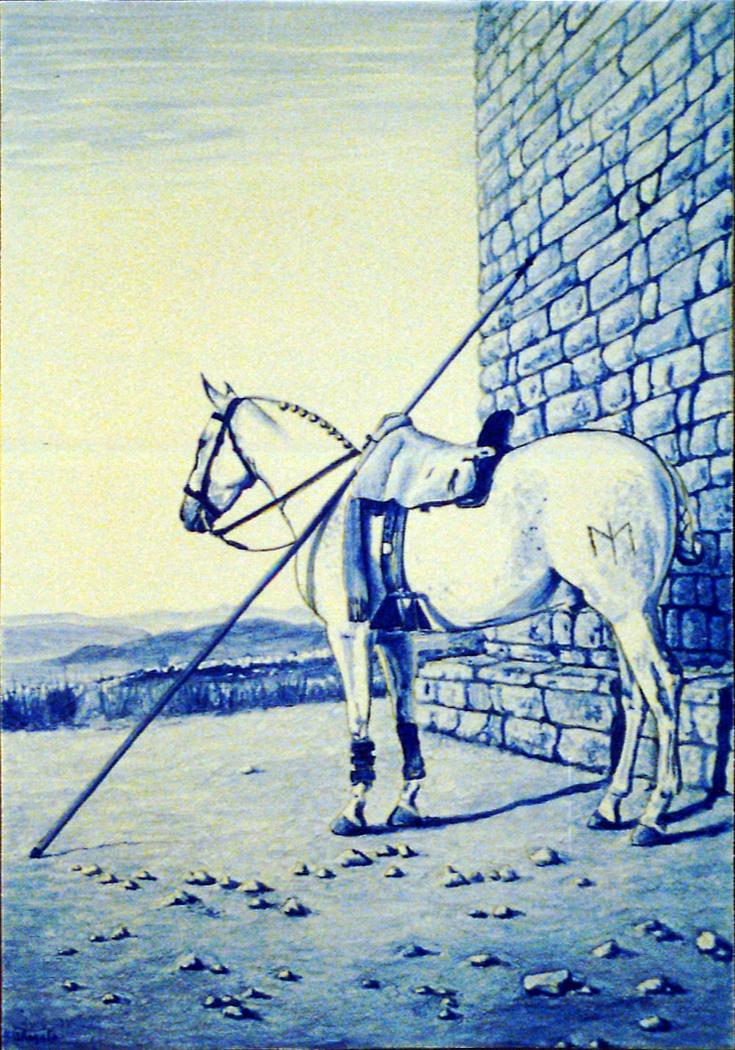 Pole vaulting horse
