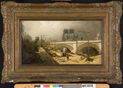 Pont de l'Archeveché (?) Parijs