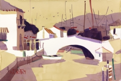 Port Grimaud Bridge