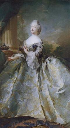 Portræt af Louise, Frederik V's første dronning