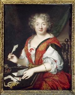 Portrait de femme écrivant, autrefois identifiée comme Mme de Sévigné