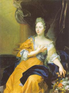 Portrait de Suzanne de Bourbers de Bernâtre