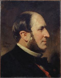 Portrait du baron Haussmann (1809-1891), préfet de la Seine