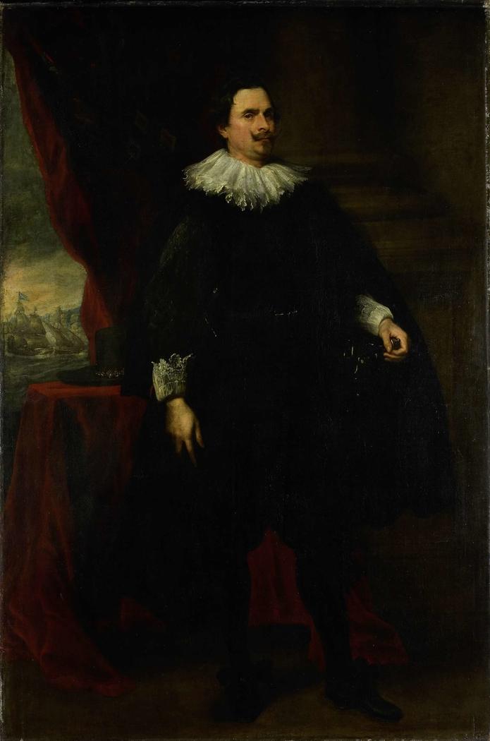 Portrait of a Man from the van der Borght Family, perhaps François van der Borght