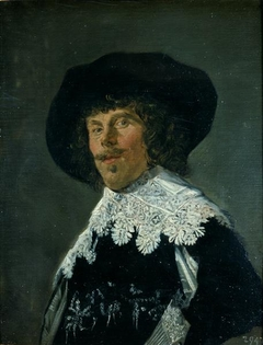 Portrait of a man in a Black Jacket