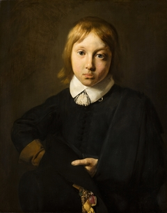 Portrait of a Six-year-old Boy