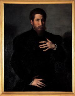 Portrait of a virile man