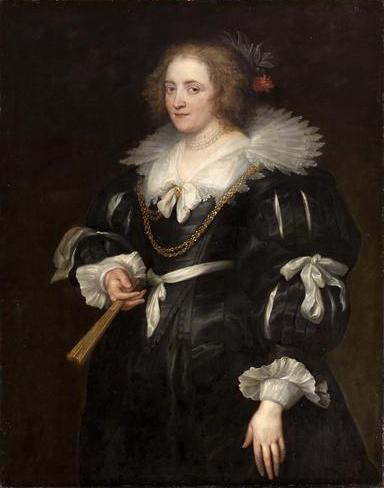 Portrait of Amalia of Solms-Braunfels
