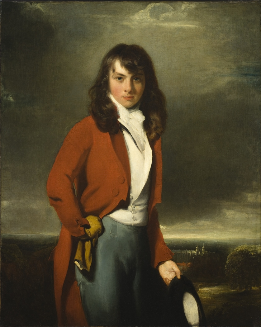 Portrait of Arthur Atherley as an Etonian
