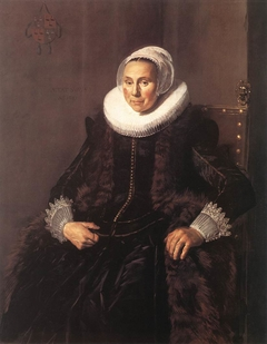 Portrait of Cornelia Claesdr Vooght