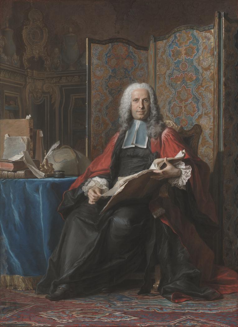 Portrait of Gabriel Bernard de Rieux