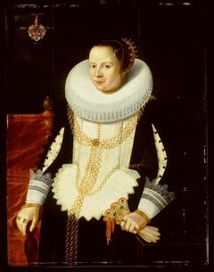 Portrait of Gertrud Kiever, wife of Pieter Ostermaan, 1627