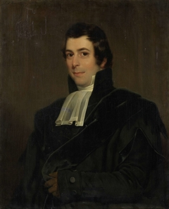 Portrait of Gijsbertus Johannes Rooyens, Professor of Theology and Church History in Amsterdam