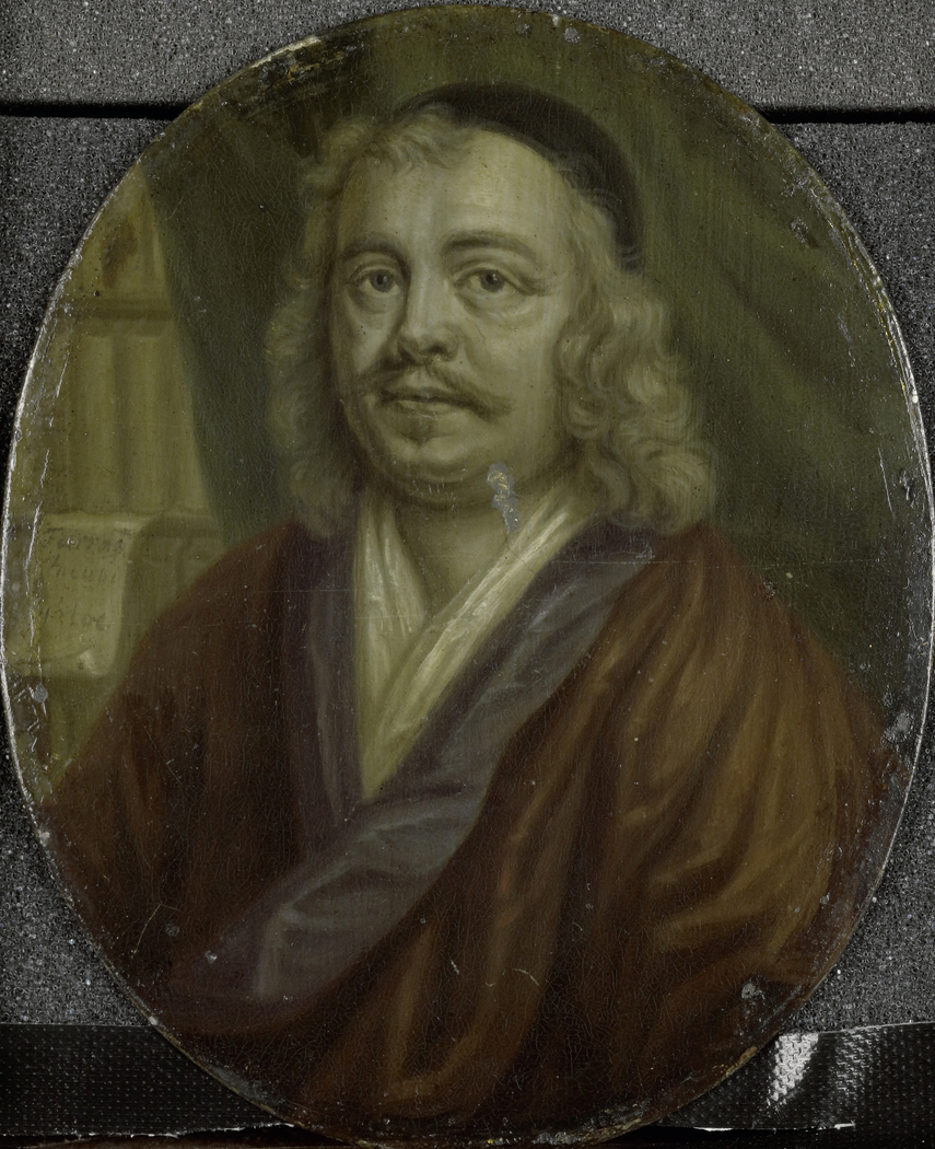 Portrait of Jacob Heiblocq, Rector of the Latin School in Amsterdam