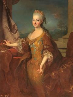 Portrait of Louise Élisabeth d'Orléans, Queen of Spain (1709-1742)