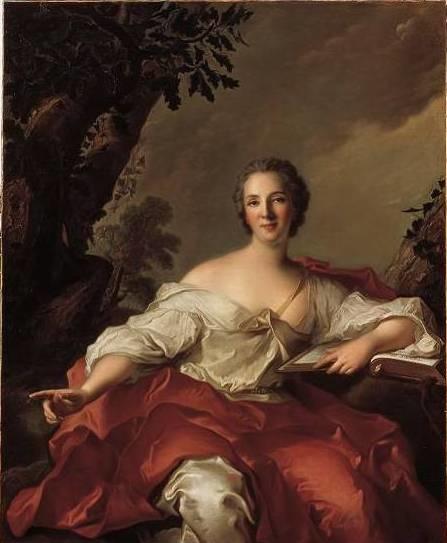 Portrait of Madame Geoffrin