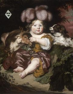 Portrait of Maria van der Meer as a Child