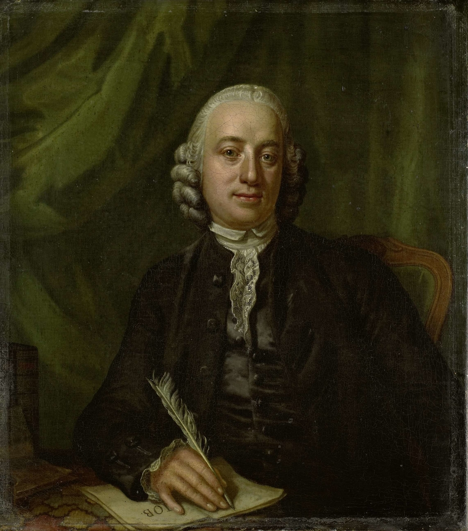 Portrait of Pieter Meijer, Publisher and Bookseller in Amsterdam