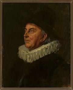 Portrait of professor Syboldt