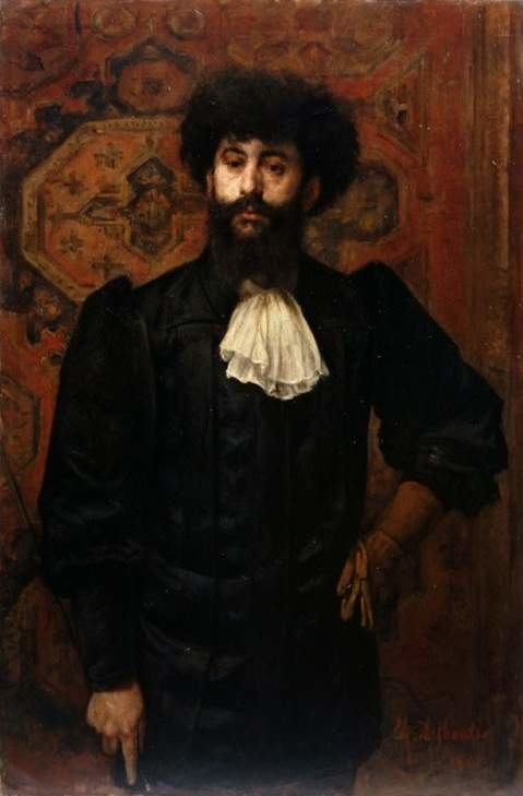 Portrait of Sâr Mérodack Joséphin Péladan