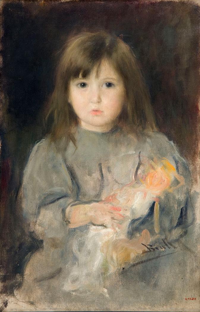Portrait of the artist's daughter