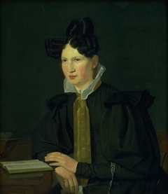 Portrait of the Artist´s Sister-in-Law, Susanne Købke, née Ryder